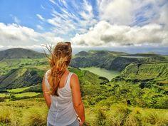Lagoa Funda Lagoa Rasa Flores Azores