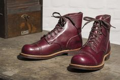 Red Wing Shoe Stores Exclusively Introduce the Munson Ranger to Europe