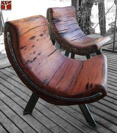 10 удивительных деревянных стульев - Идеи для творчества - Блог Станкофф.RU