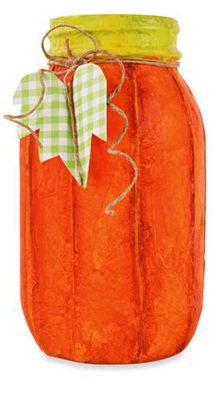 Tissue #Pumpkin Jar #MichaelsStores
