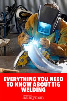 Learn the pros and cons of TIG welding and how to do it yourself. If you haven't welded in a while, practice TIG welding on scraps before welding actual parts. Tig Welding Tips, Welding Gear, Welding Shop, Laser Welding, Mig Welding, Metal Welding, Tig Welding Process, Welding Training, Welded Metal Projects