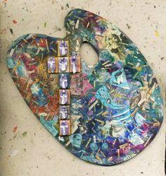 "Saatchi Art Artist Elena Mary Siff; Collage, ""Art Prophets/Art Profits"" #art"