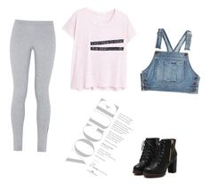 """""""Casual day"""" by beautyjules ❤ liked on Polyvore featuring Moschino, NIKE and MANGO"""