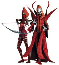 Nightsisters // If I were born in the Star Wars Universe I would soo be a Nightsister like Asajj Ventress :3