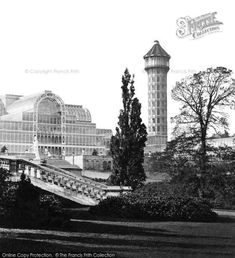 Crystal Palace, Water Tower from Francis Frith South London, Old London, Local History, British History, Old Photos, Vintage Photos, Croydon Airport, Exhibition Building, Palace London
