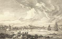 İSTANBUL. VUE GENERAL DU PORT ET DE LA VILLE DE CONSTANTINOPLE, Auguste de Choiseul-GOUFFIER, Kasımpaşa'dan Süleymaniye