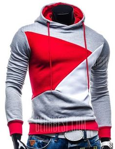 84 best my boo style images  casual men spliced hoodie $15 07 free shipping