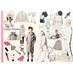 Clear Winter, Color, Fashion Ideas, Bright, Deep, Hair, Instagram, Colour, Strengthen Hair