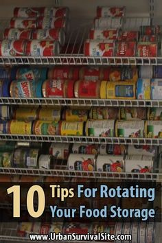 Unless you want a pantry full of spoiled food, you need to have a system in place for rotating your food storage. Eat what you store, store what you eat.