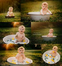 milk bath Bath baby photography photo shoot ideas for 2019 Cute Babies Photography, Milk Bath Photography, Toddler Photography, Newborn Photography, Indoor Photography, Photography Ideas Kids, 6 Month Photography, Baby Boy Pictures, Newborn Pictures