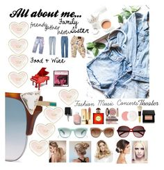 """All about me..."" by onesweetthing on Polyvore featuring art and allaboutme"
