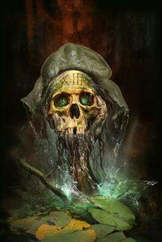 Mystery Case Files: The Skull Pirate Art, Pirate Skull, Pirate Life, Pirate Ships, Charles Vane, Black Sails, Grim Reaper, Skull And Bones, Pirates Of The Caribbean
