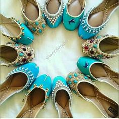 The handmade shoe brand launched a line aimed at American consumers that reimagines the South Asian khussa flats as an urban fashion shoe. Shoe Boots, Shoes Sandals, Flat Shoes, Indian Shoes, Espadrilles, Shoe Closet, Shoe Collection, Wedding Shoes, Wedding Outfits