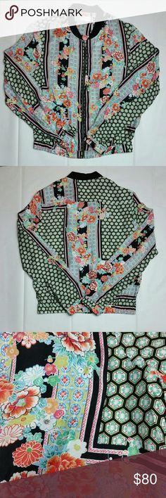 Spotted while shopping on Poshmark: Rose Sake Bomber Jacket! #poshmark #fashion #shopping #style #Seafolly #Jackets & Blazers
