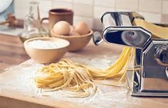 Homemade pasta using one of the most popular KitchenAid Mixer Attachments - and surprisingly not that expensive compared to other kitchenaid mixer attachments.