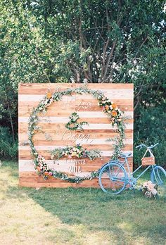 Write it out in greenery | Brides.com