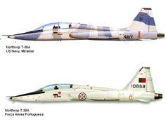 AVIÕES MILITARES: Northrop T-38 Talon