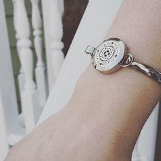 The Oily Amulet Design - Stainless Steel Diffuser Bracelet Essential Oil Jewelry, Essential Oil Diffuser, Essential Oils, Diffuser Jewelry, Diffuser Necklace, Locket Bracelet, Bracelet Watch, Silver Lockets, Stainless Steel Bracelet