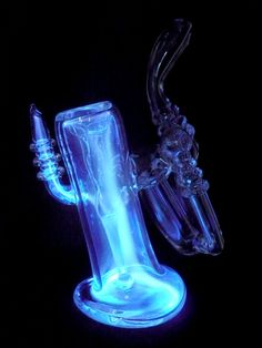 Plasma pipe's gorgeous, gaseous glow