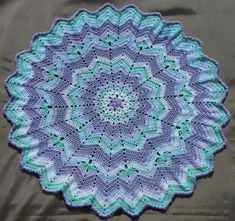Ravelry: Project Gallery for Fox's Round Ripple 12 to 24 Points pattern by Donna Mason-Svara