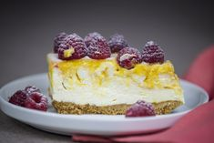 Mango Ripple Cheesecake   youcanbakethis.com