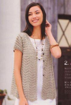 Crochet Sweater (Russian)