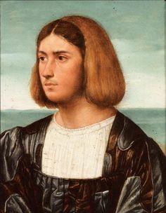 Portrait of a Man by Bernardino Licinio (1489-1565)