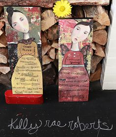 kelly rae: Nourish Your Soul NEW: wall art, keychains and tray!