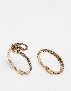 Image 1 ofPilgrim Snake Ring Set