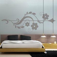 Vinilo decorativo especial cabecero de cama diseño Arrow. Masquevinilo.com