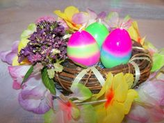 Make your own Ostara candles - pinning to read later