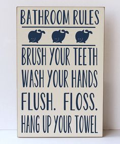 I need this in Seth's bathroom   Say these things on a daily basis!