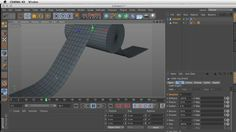 Basic Cloth in Cinema 4D by Dylan Winter. Topics covered include cloth basics like setting up standard collisions, self-collisions, belting cloth to an object, and using cloth NURBS.