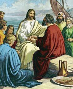 """Segumiento de Jesús y recompensa  Mateo 10, 28-31 """"Yo les aseguro: Nadie que haya dejado casa, o hermanos o hermanas, o padre o madre, o hijos o tierras, por mí y por el Evangelio, dejará de recibir, en esta vida, el ciento por uno…""""."""