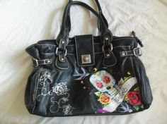 Red by Marc Echo tattoo purse