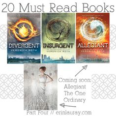 "I've read a few and added the others to my list of ""must reads"" 20 Amazing Dystopian Fiction Books // erinlauray.com"