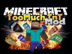 Minecraft Mod - Too Much TnT Mod - New TNT Types Tnt Minecraft, Type, Video Game, Breads, Watch, Board, Bread Rolls, Clock, Bracelet Watch
