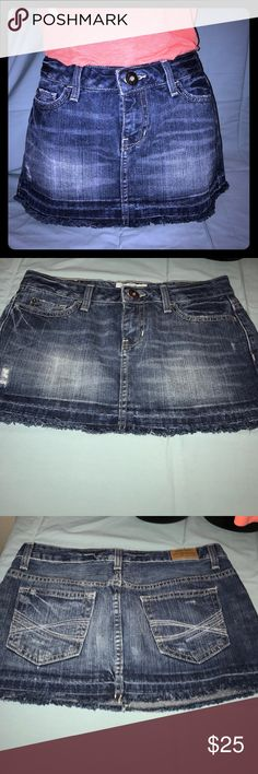 Aeropostale Jean Skirt Size 3/4 🔵Aeropostale Jean Skirt Size 3/4🔵 🔵Size 3/4🔵 🔵Waist: 14/28🔵 🔵Fabric: 100% Cotton🔵 🔵Color: Denim skirt🔵 🔵NO Damage, Snags or Stains🔵 Aeropostale Skirts