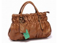 Prada 11832 Tote Bag - Brown
