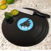 Best of Choppin Vinyl Record Glass Cutting Board