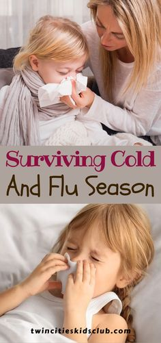 Twin Cities Kids Club Blogs: Surviving Cold and Flu Season - Kids are germ factories and colds spread quickly in daycare and schools. You may even trade the same cold back and forth in the family for weeks before it is licked. While getting a cold or the flu this winter is likely inevitable, there are things you can do to prevent them. There are some strategies for making your sick time more bearable. | Kids | Kids Safety | Kids Safety from Cold & Germs Step Parenting, Parenting Hacks, Steam Room Benefits, Activities For 2 Year Olds, Flu Prevention, Kids Safety, Children Toys, Flu Season, Twin Cities