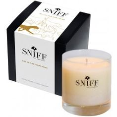 Sniff! Aromatherapy candles for pets! Would be great during bath time or even when expecting company that may stress out Fido!