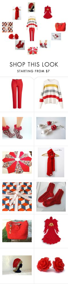 """""""Christmas Cheer"""" by einder ❤ liked on Polyvore featuring Theory"""