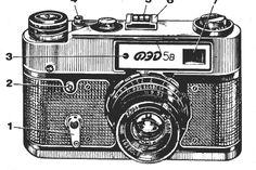 FED 5B instruction manual, user manual, 35mm camera, free PFD camera manuals