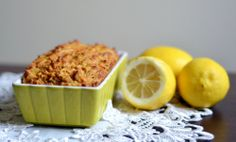 Relish it: carrot-coconut cake with lemon.