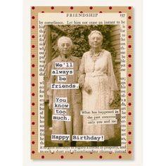 CARD BIRTHDAY BEST FRIEND KNOW - PINE RIDGE ART, INC
