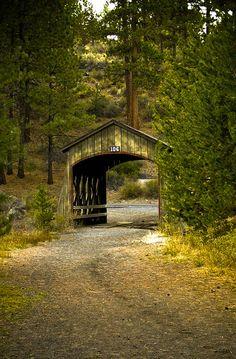 Covered Bridge near Bend