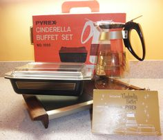 PYREX Musical Staff Complete Cinderella Buffet Set with Box, via Etsy.