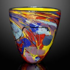 Tim Lazer Glass represented at Earthwood Galleries
