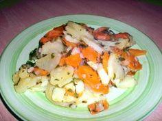 Kartoffel-Möhren-Gemüse nach baskischer Art
